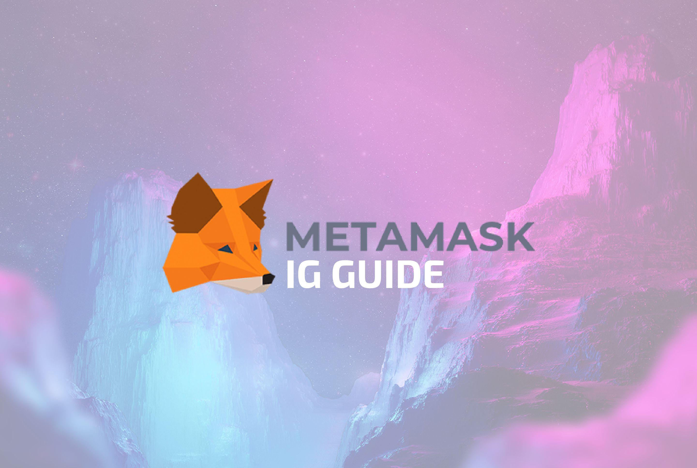 IG's Guide to Using MetaMa