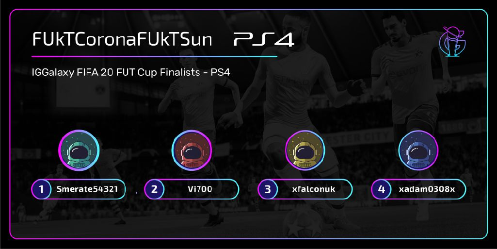 The first four players to qualify for the PS4 Grand Finals in April!