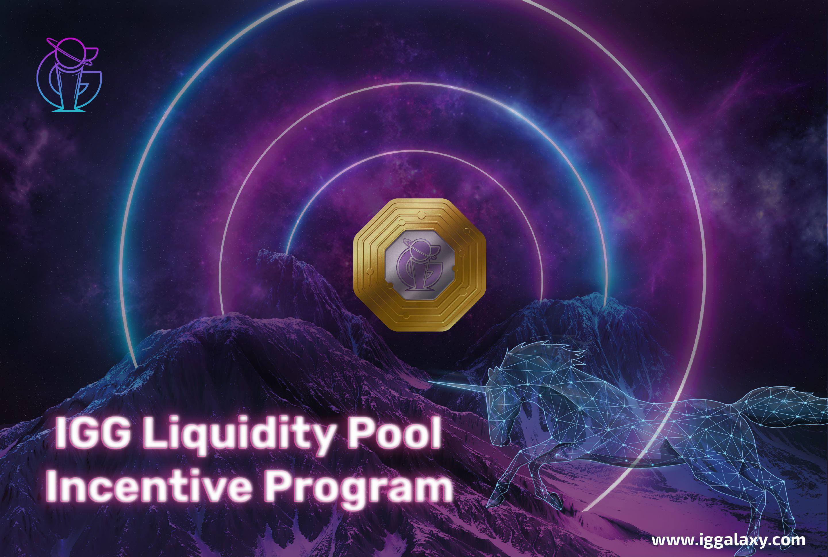 IGGalaxy's Liquidity Pool Incentive Program: Launching with UniSwap Protocol!
