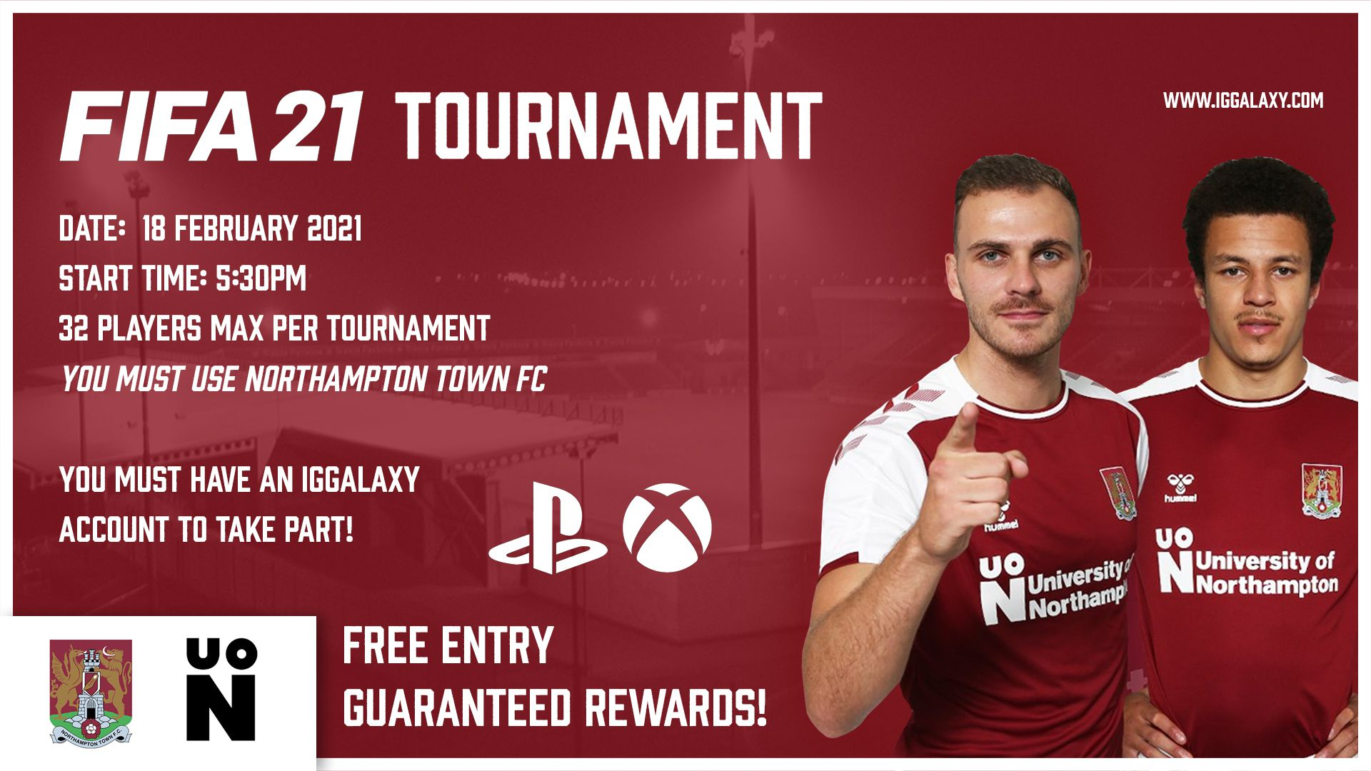 FIFA 21 Northampton F.C. Cup hosted by IGGalaxy!