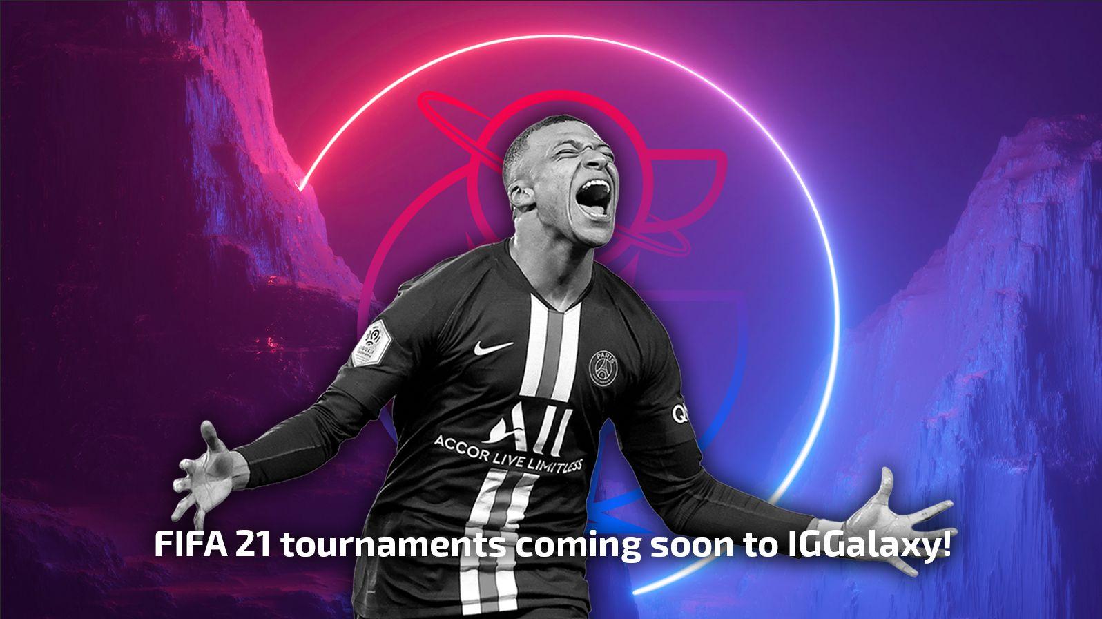 FIFA 21 tournaments available in IGGalaxy soon!