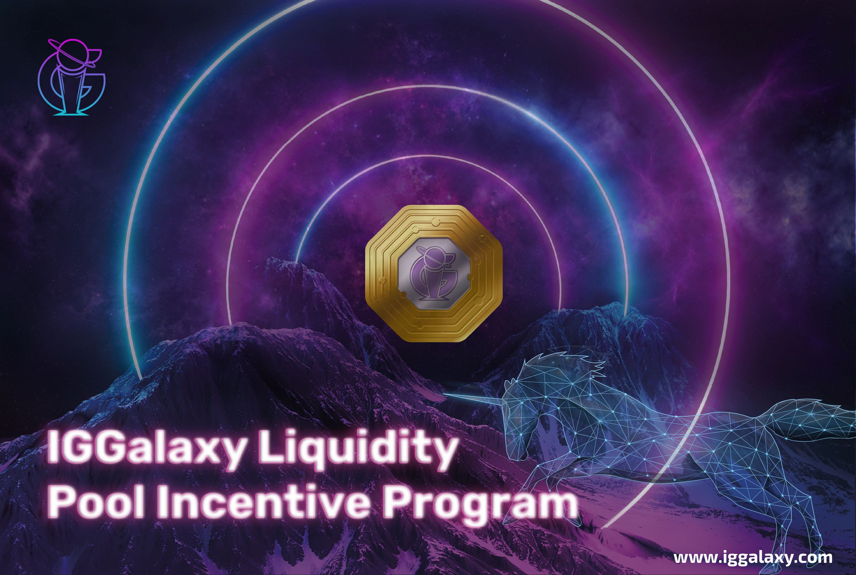IGGalaxy's UniSwap Liquidity Pool Incentive Program Launched!