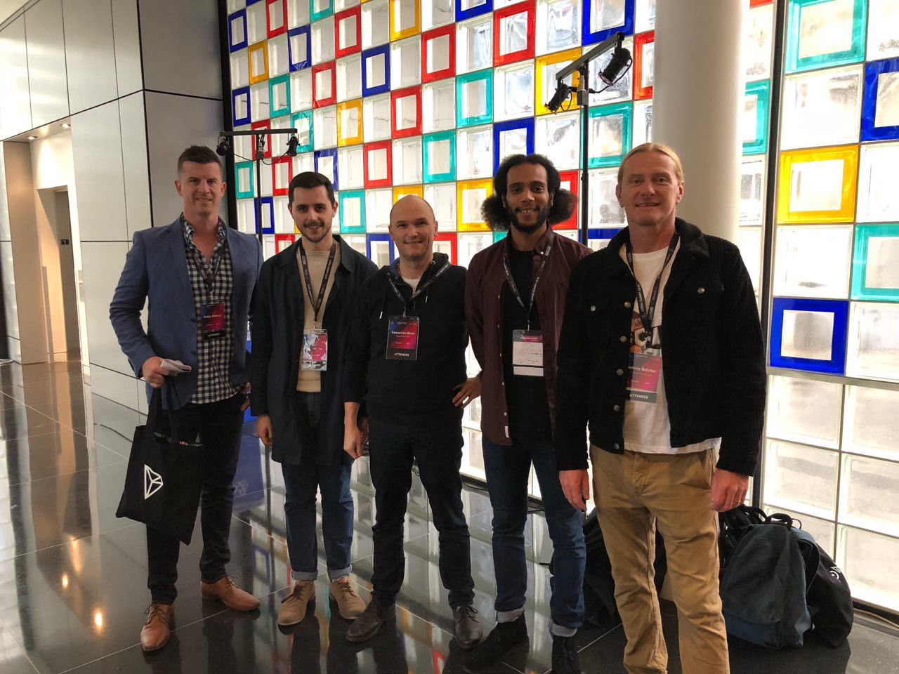 IG team meet TRON community at niTRON 2019.