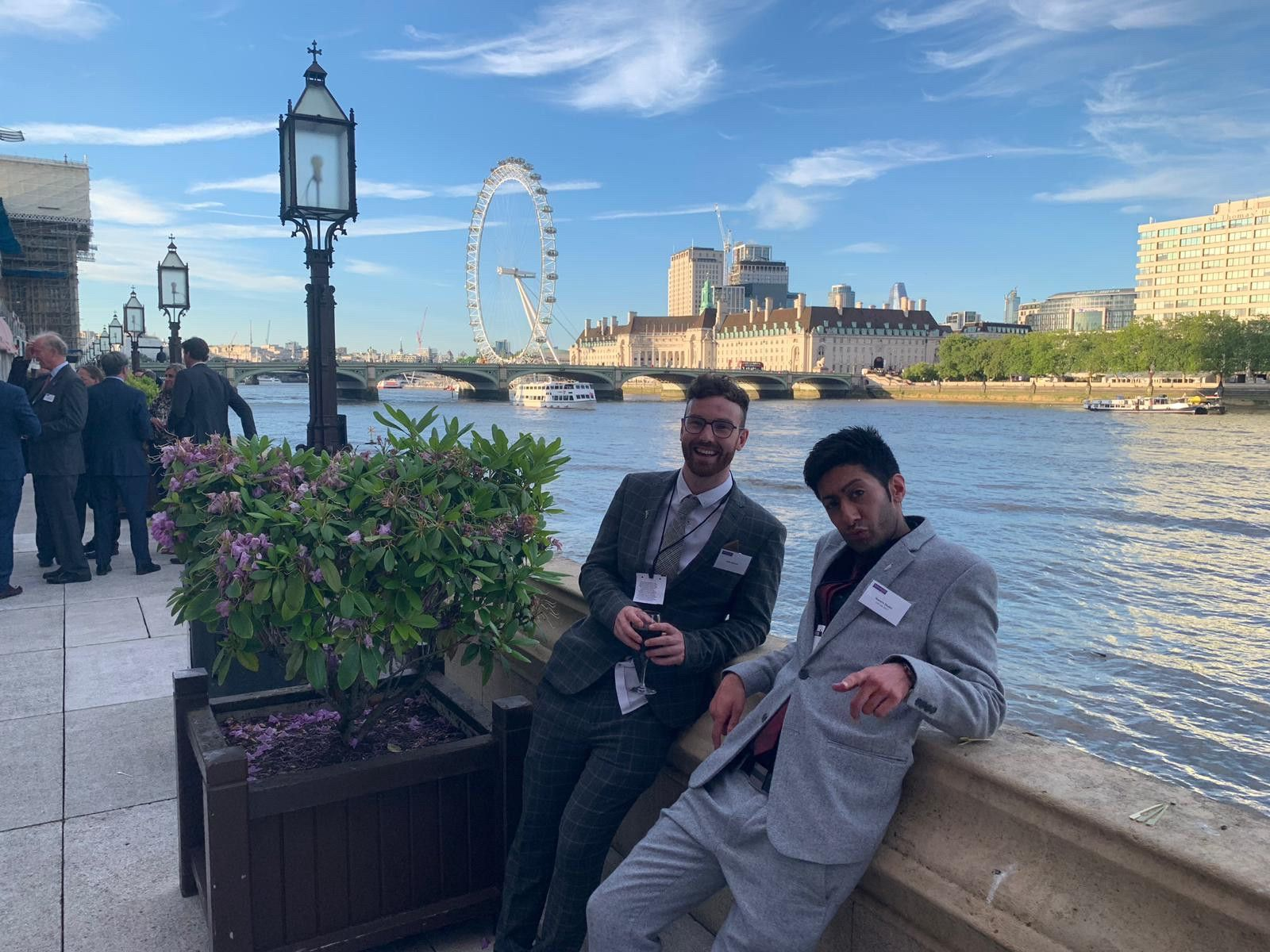Our co-founders attend House of Lords in London