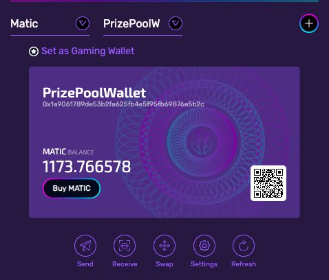 IGWallet gives gamers the opportunity to receive, store and send IGGalaxy and other whitelisted crypto-assets!