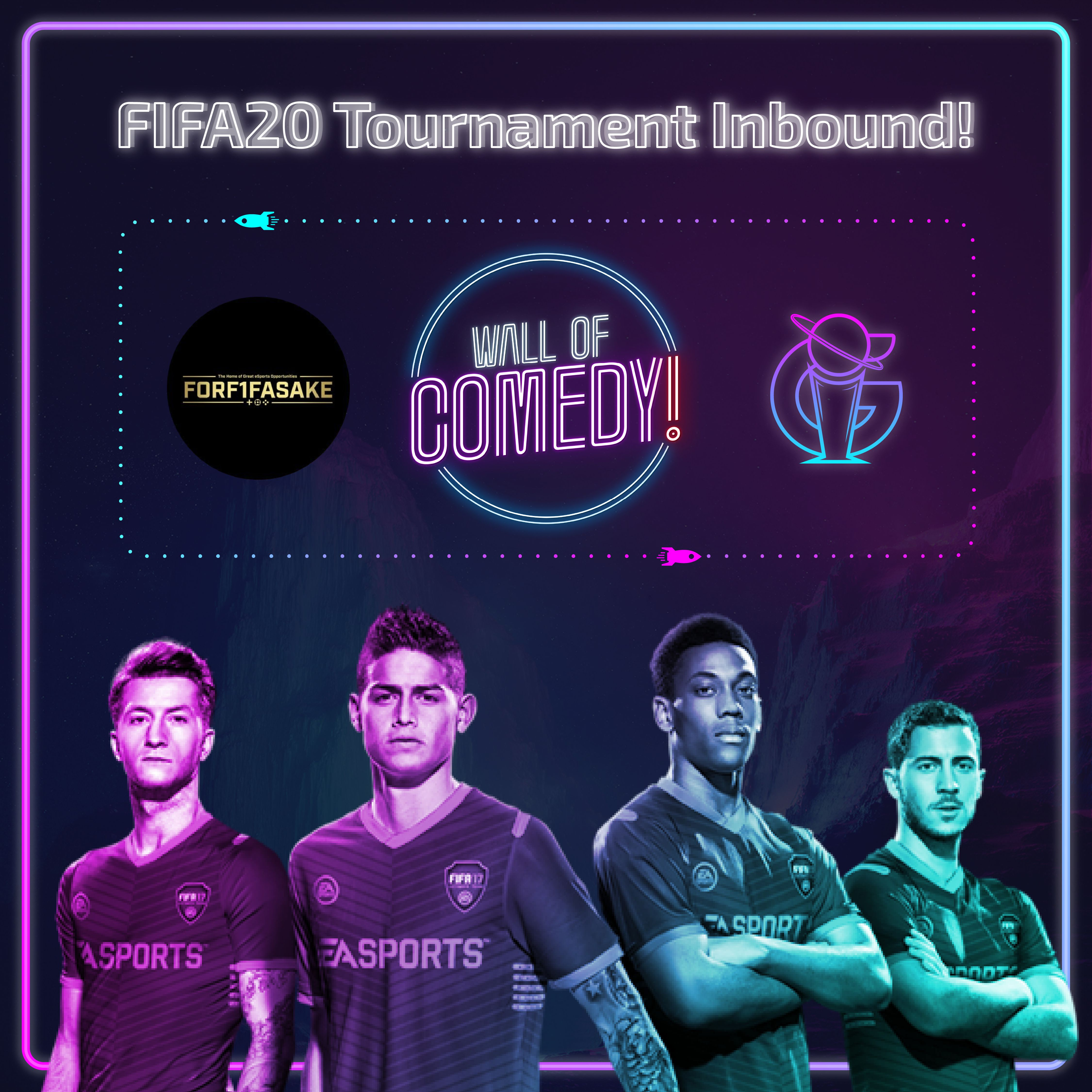 Wall of Comedy FIFA 20 Cup - PS4