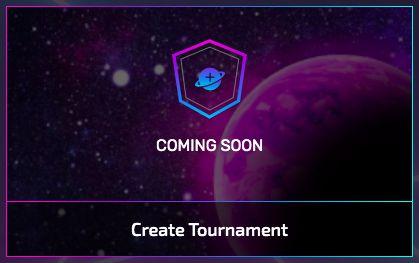 Tournament creation module coming soon!