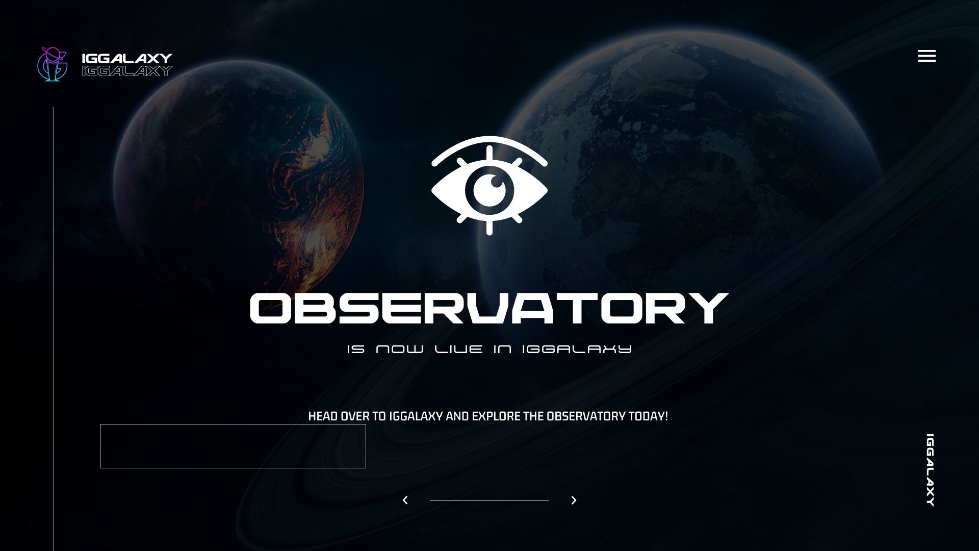 IGGalaxy's Observatory v1 released!