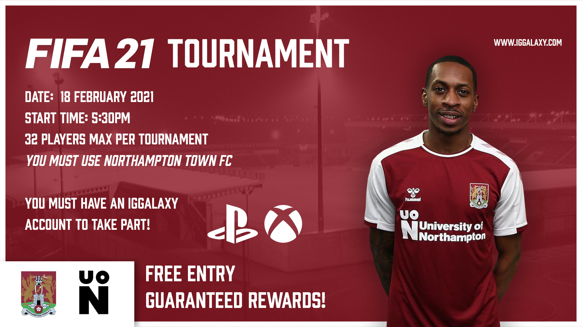 Northampton F.C. Cup hosted by IGGalaxy!
