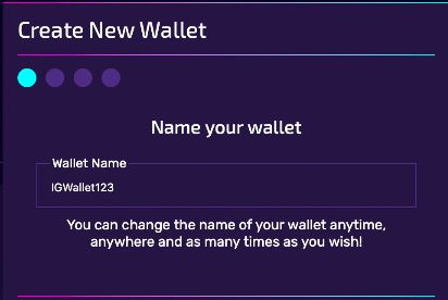 You can change your wallet name as many times as you like!