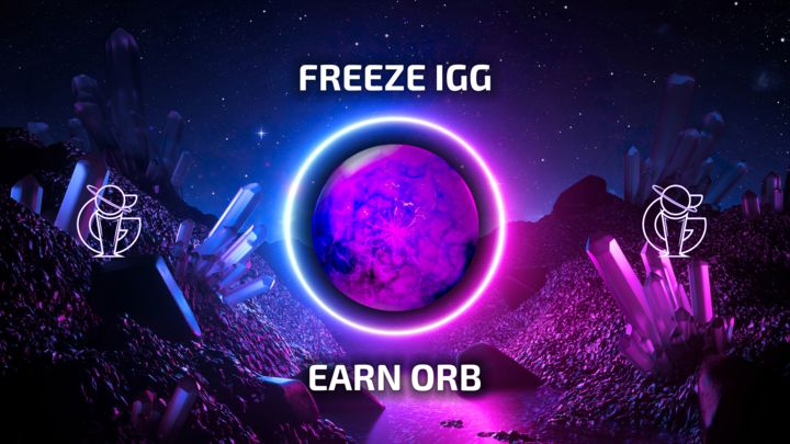 Freeze your IGG tokens for fixed period of time to earn ORB tokens!